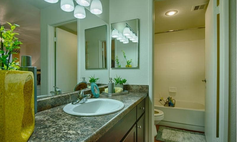 Bathroom at Cabrillo Apartments in Scottsdale, AZ