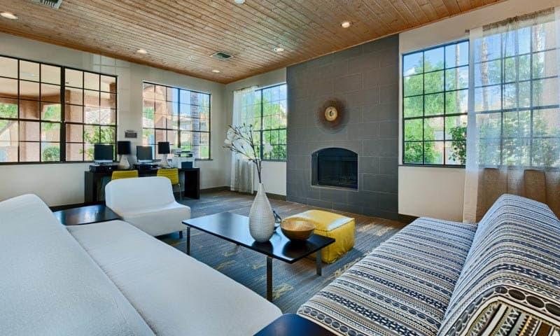 Clubhouse Interior at Cabrillo Apartments in Scottsdale, AZ