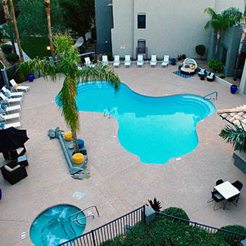 Enjoy the community amenities at Cabrillo Apartments