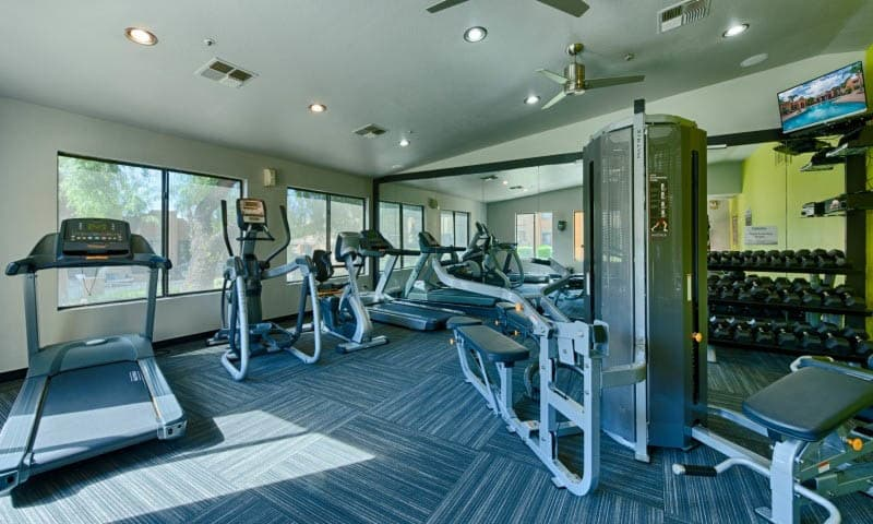 Fitness Center at Cabrillo Apartments in Scottsdale, AZ