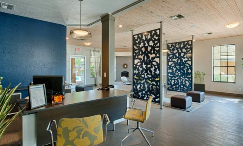 Leasing Office Interior at Cabrillo Apartments in Scottsdale, AZ