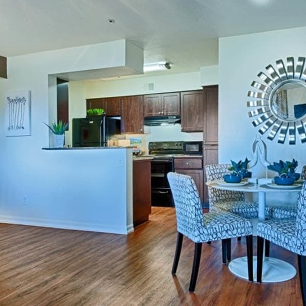 Open Dining Area at Cabrillo Apartments