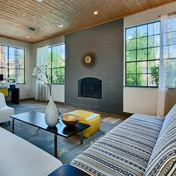 Clubhouse interior at Scottsdale apartments for rent