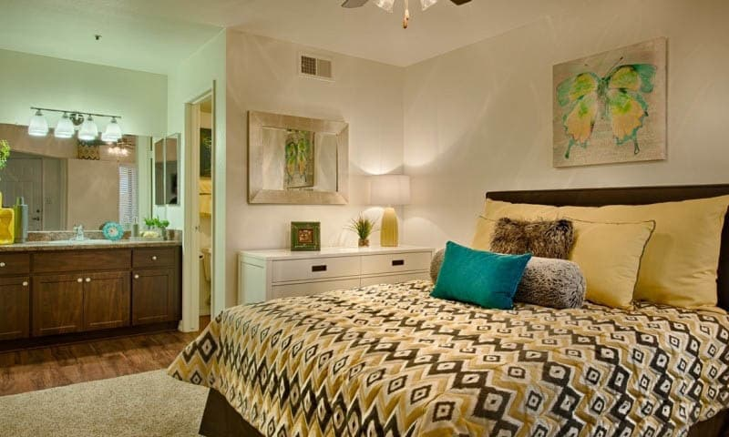 Spacious Bedroom at Cabrillo Apartments in Scottsdale, AZ