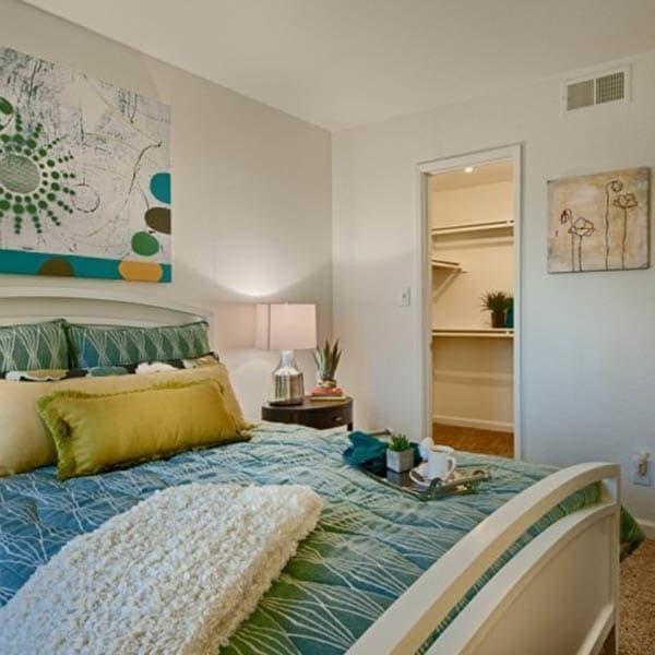 Spacious Master Bedroom at Cabrillo Apartments