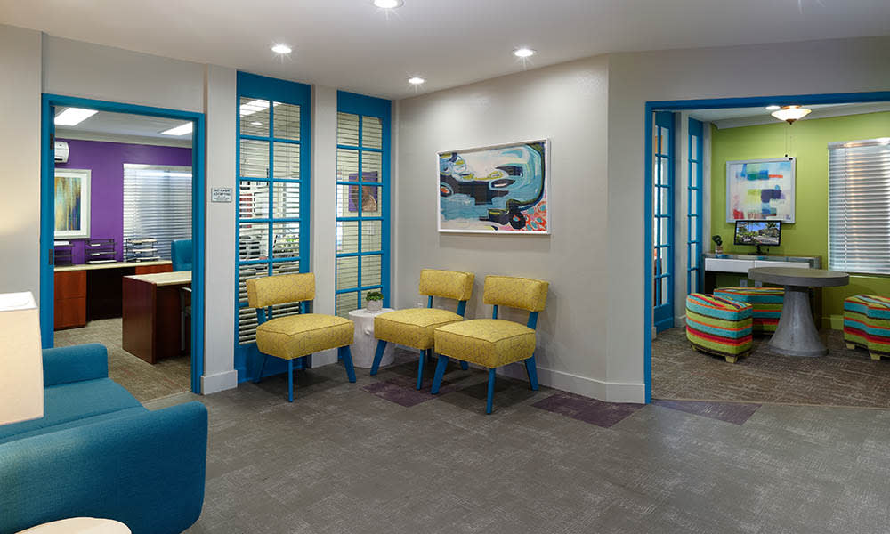 Leasing Office And Business Center at UCA Apartment Homes in Fullerton, CA