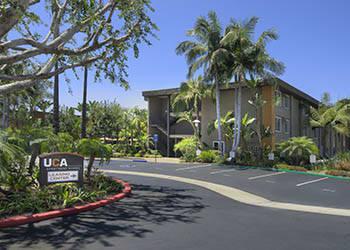 Arriving at UCA Apartment Homes in Fullerton