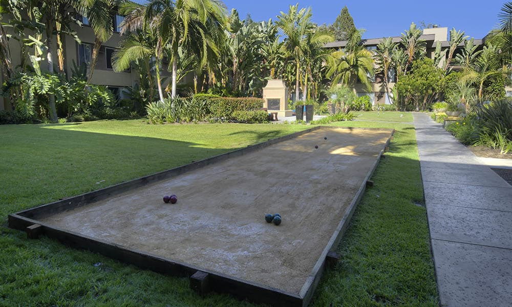 Bocce Ball at UCE Apartment Homes in Fullerton, CA