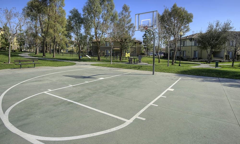 Basketball Court at Camino Real in Rancho Cucamonga, CA