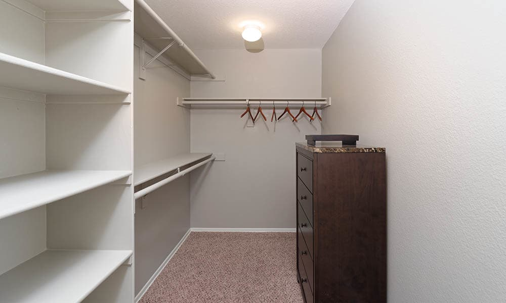 Large Walk In Closet at Camino Real in Rancho Cucamonga, CA