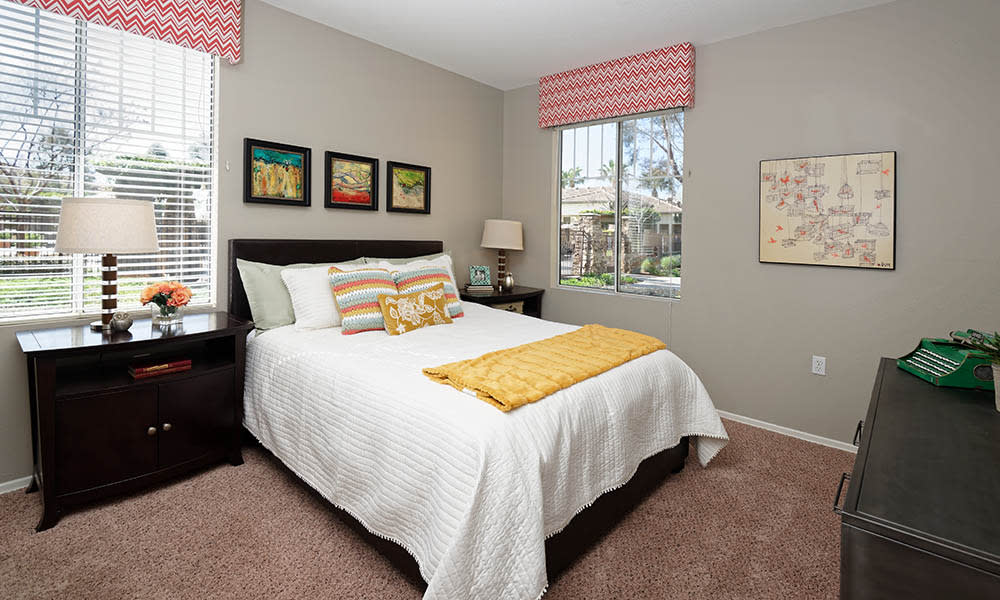 Master Bedroom at Camino Real in Rancho Cucamonga, CA