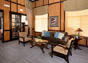 Our clubhouse at Camino Real in Rancho Cucamonga has plenty of space for gathering