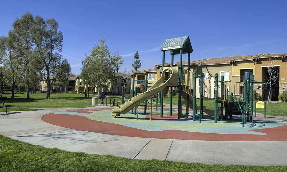 Playground Equipment at Camino Real in Rancho Cucamonga, CA