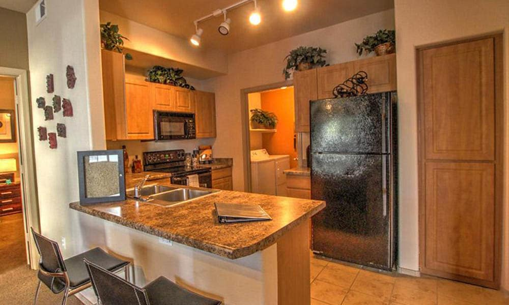 Granite Style Countertops In Our Homes At Dobson 2222