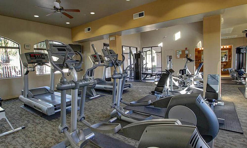 High Tech Fitness Center At Chuparosas Apartments