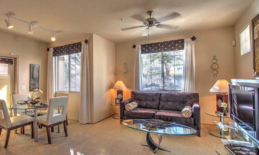 Living Room Inside Dobson 2222
