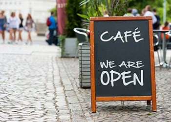 Cafe near your neighborhood at the apartments for rent in