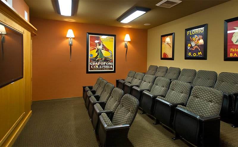 Apartments in Sammamish has a modern theater
