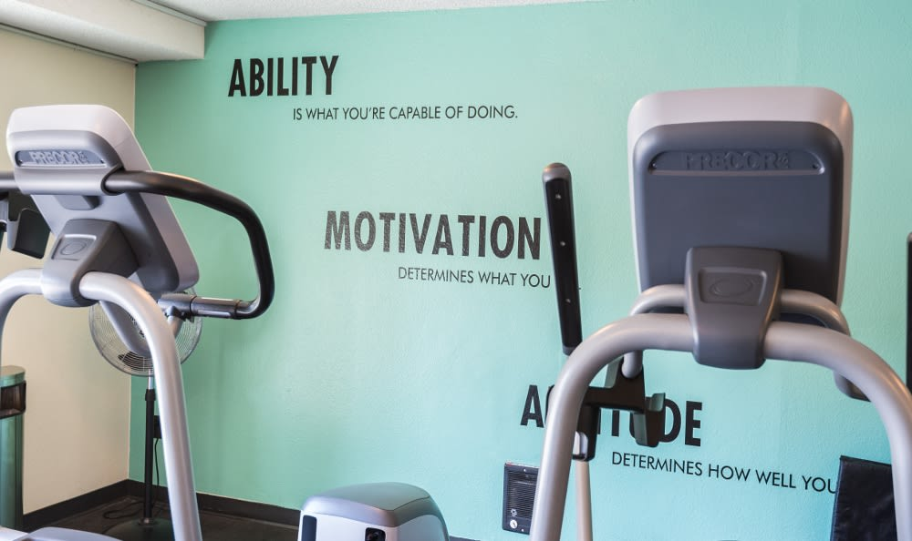 Motivation for fitness at Edgewood Park Apartments