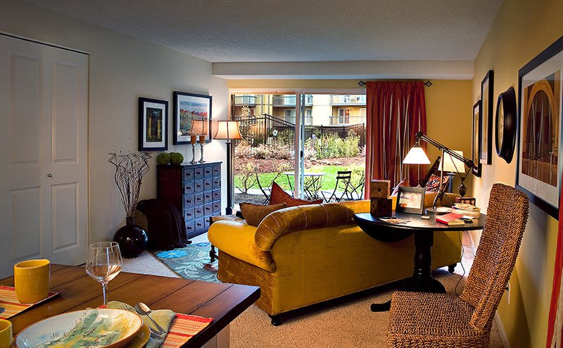 Apartments for rent in Bellevue has spacious living rooms