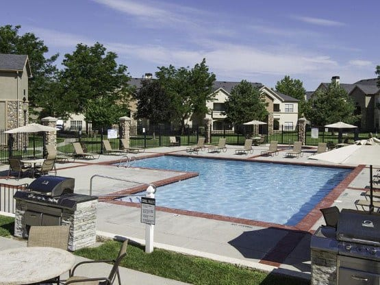 Enjoy the community amenities at Alpine Meadows Apartments