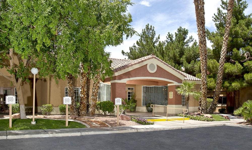Leasing Office At 3055 Las Vegas