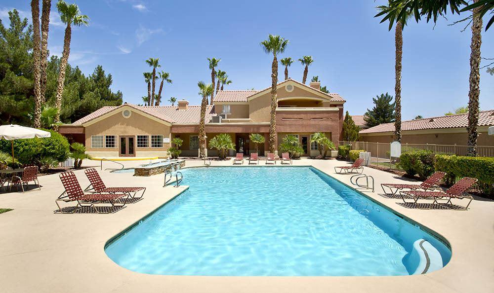 Pool At 3055 Las Vegas