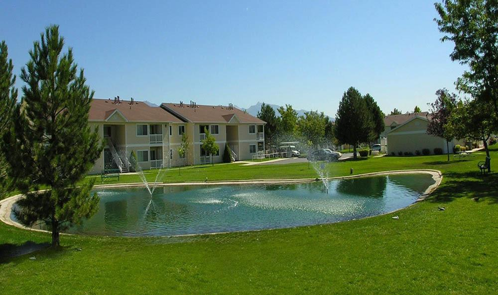 Community Pond At Lakeside Village Apartments