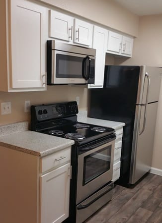 Stainless steel appliances at Villas at Mountain Vista