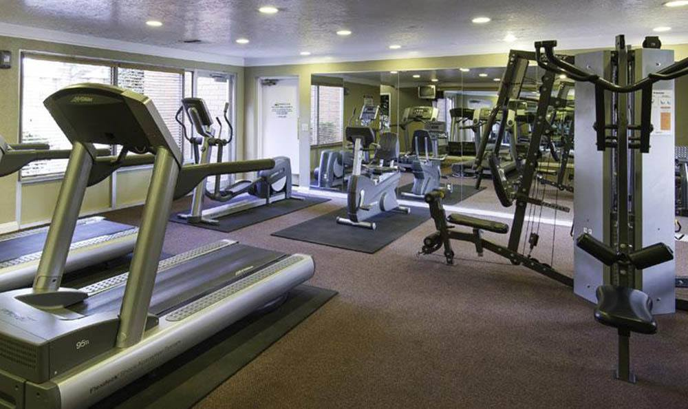 Fitness Center At Wasatch Club Apartments