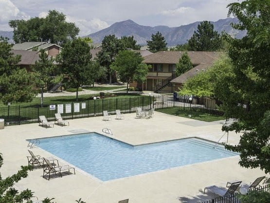 Enjoy the community amenities at Wasatch Club Apartments