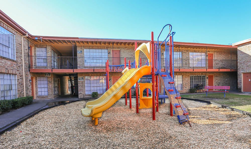 Playground In The Center Of One Pine Apartments