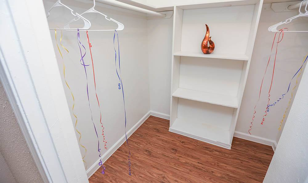 Walk In Closets At One Pine Apartments Apartments