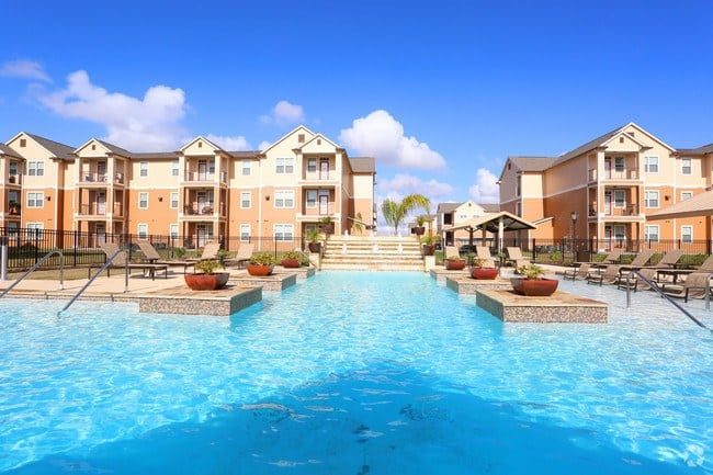 The resort-styled pool will wow you at Oak Forest.