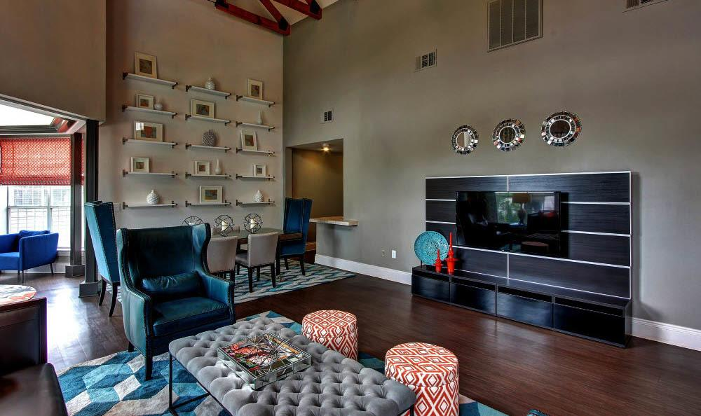 Community club room at The Parq on the Boulevard