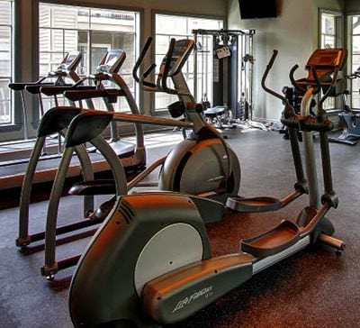 24-Hour Fitness Center at The Parq on the Boulevard in San Antonio, TX
