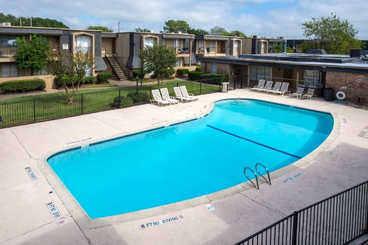 Wonderful pool at Pine Forest Park & Pine Forest Place Apartments