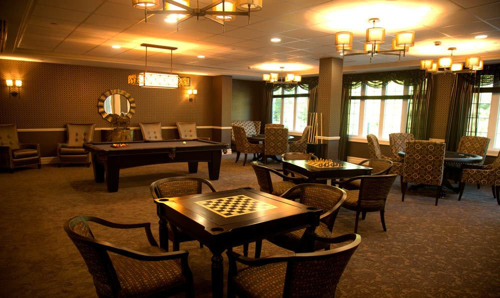 The Club Room 2 at White Plains senior living