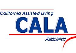 UALA logo at the senior living community in Huntington Beach