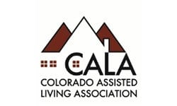 CALA logo at the senior living community in Colorado Springs