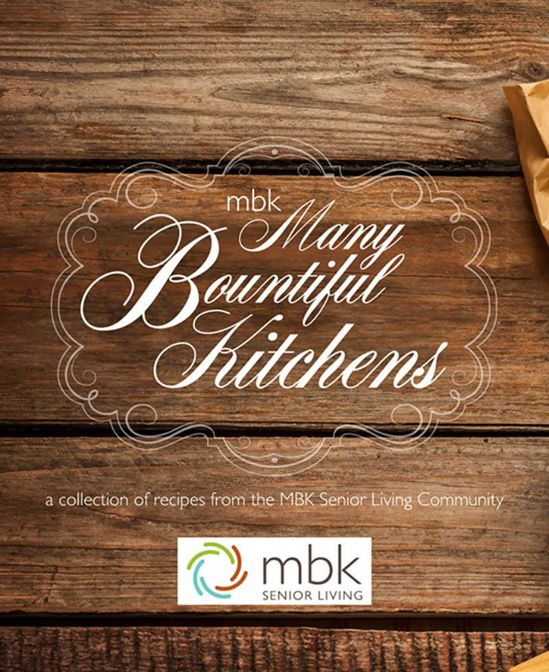 Get our cookbook on amazon today from MBK Senior Living