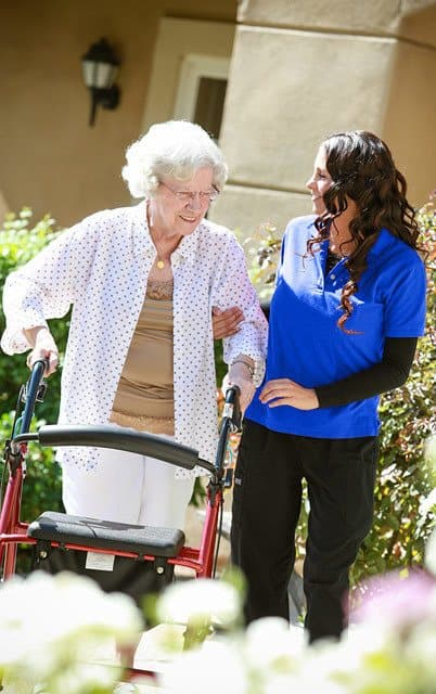 Senior living in Highland has a Home 2 Stay program
