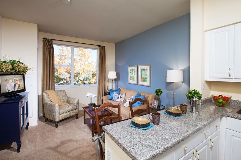 View the spacious floor plans that The Wellington senior living in Salt Lake City is offering