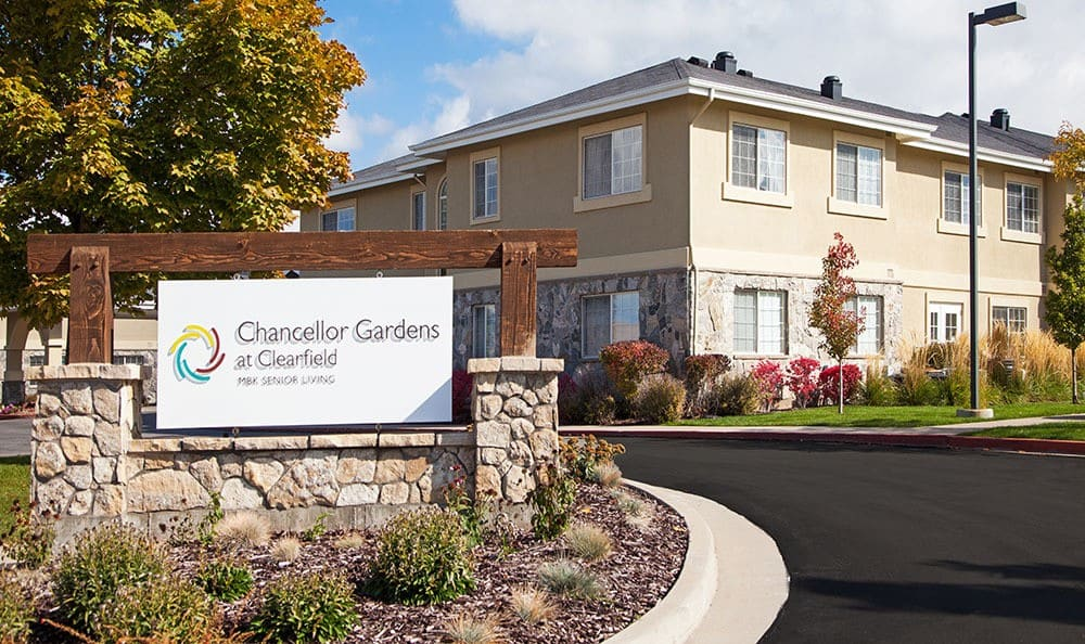 Welcome to Chancellor Gardens at Clearfield in Clearfield senior living community