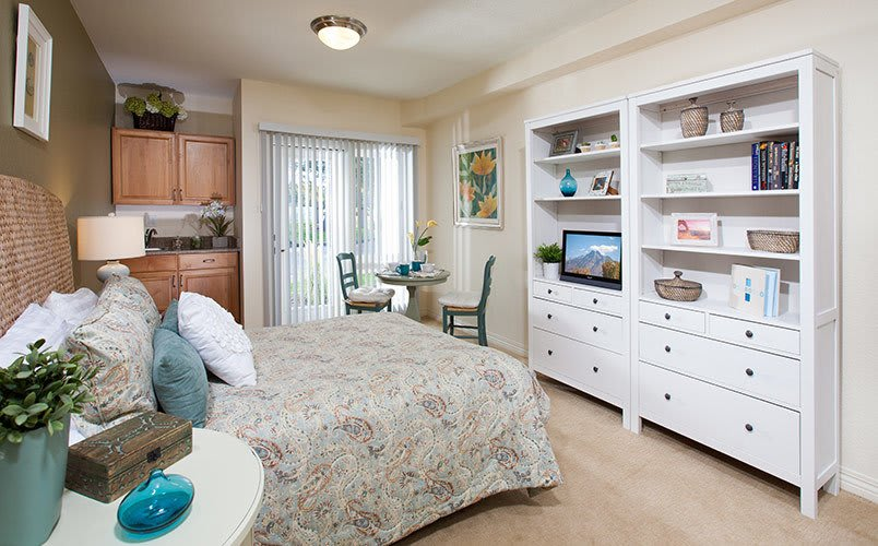 View the spacious floor plans that the senior living in Salt Lake City is offering