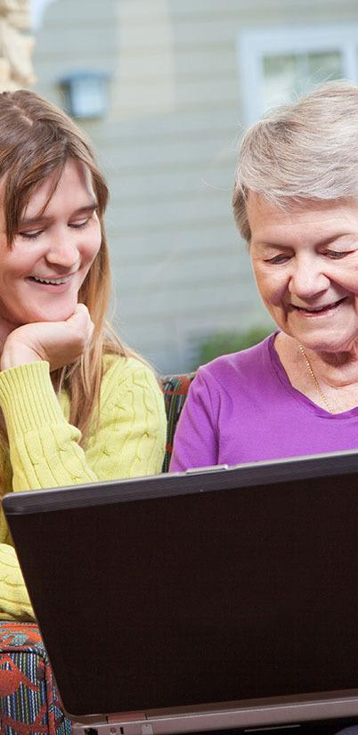 Employees at the senior living community in Salt Lake City