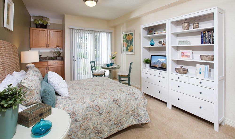 Senior living in Salt Lake City modern apartment style
