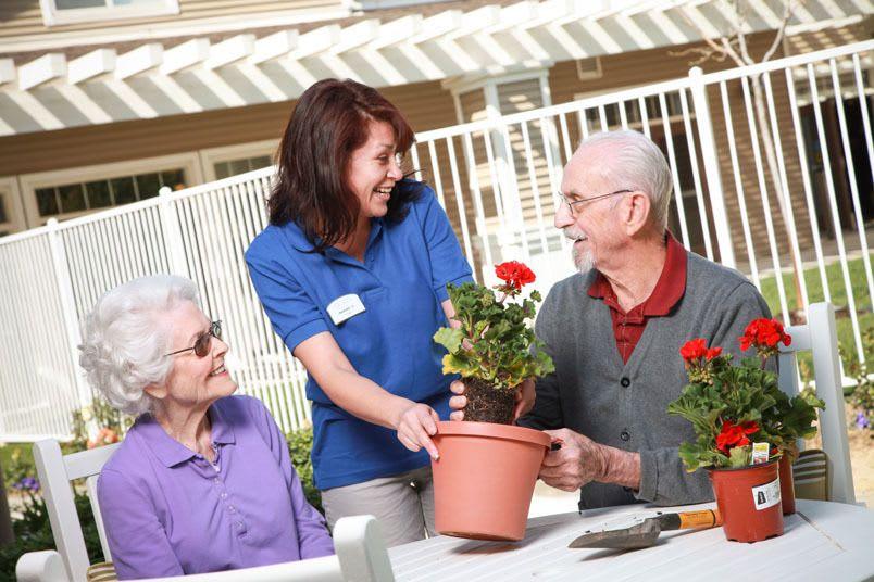 Respite care at the senior living community in Salt Lake City