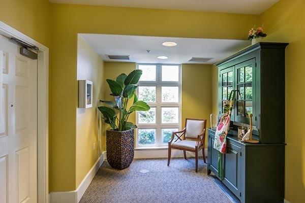 Room at senior living in Fremont, CA