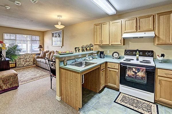 Kitchen at Fremont Hills in Fremont